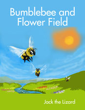 Bumblebee and Flower Field