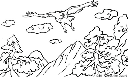Coloring Pages of Andean Condor