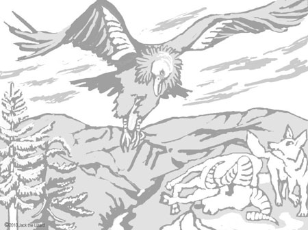 Coloring Pages of California Condor