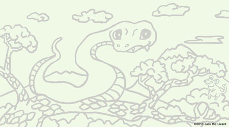 Coloring Snake